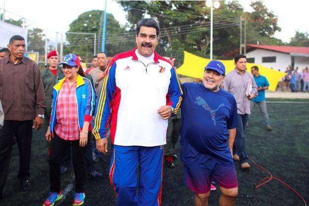 Nicolas Maduro, Diego Maradona