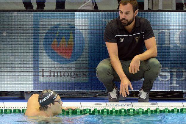 Romain Barnier, le manager du cercle des nageurs de Marseille