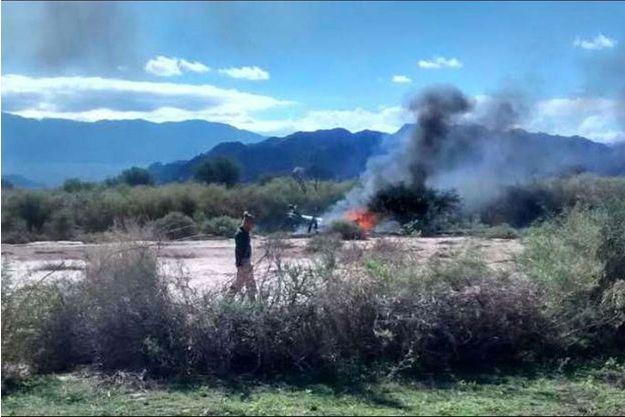 Le crash s'est produit dans la province montagneuse de La Rioja, en Argentine.