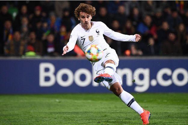 Antoine Griezmann a marqué un but magnifique.