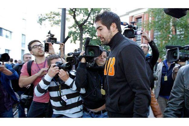 Nikola Karabatic a été arrêté dimanche.
