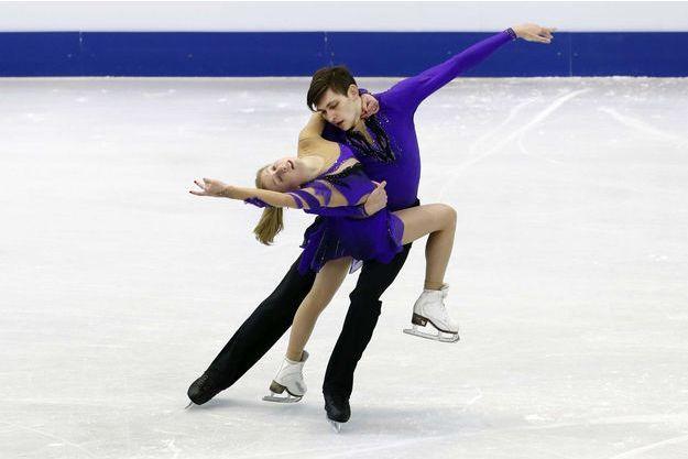 Harley Windsor va concourir en patinage artistique avec sa partenaire russe Ekaterina Alexandrovskaya.