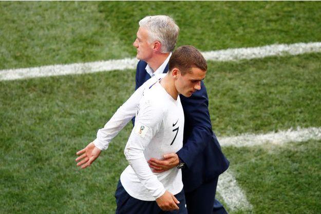 Didier Deschamps a encore remplacé Antoine Griezmann face au Danemark.