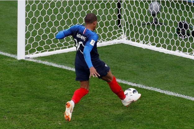 Kylian Mbappé a inscrit son premier but de la compétition.