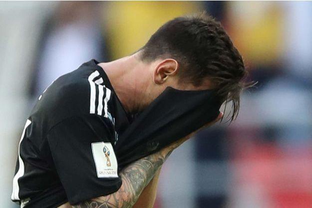Lionel Messi a manqué un penalty.