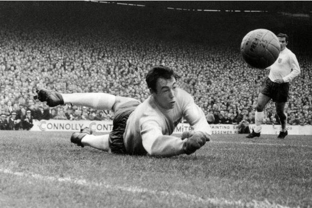 Gordon Banks en 1967.