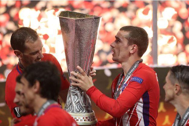 Antoine Griezmann a inscrit un doublé pour l'Atlético Madrid.