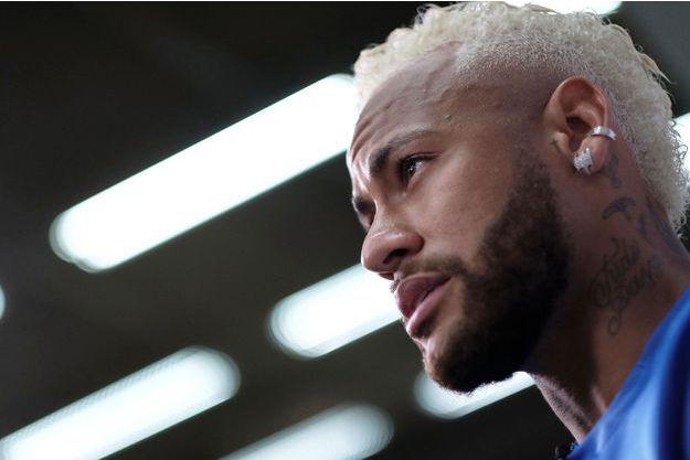Neymar à Sao Paulo le 13 juillet dernier.