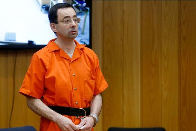 Le docteur Larry Nassar en février dernier lors de son procès.