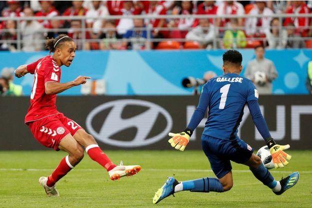 Poulsen a marqué le but de la victoire.