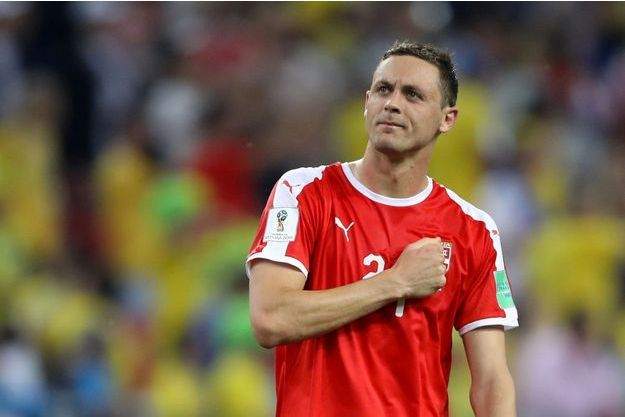 Le footballeur serbe Nemanja Matic.