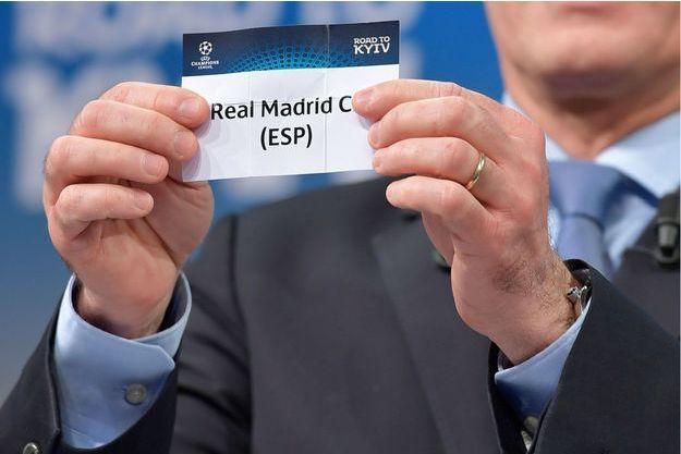 Real Madrid, tiré par Giorgio Marchetti à Nyon en Suisse, le 11 décembre 2017