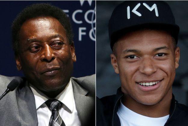 Pelé a souhaité un bon anniversaire à Mbappé.