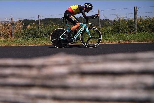 Wout van Aert lors de la 13e étape du Tour de France.