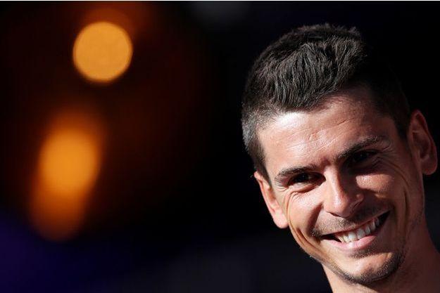 Warren Barguil, le nouveau champion de France de cyclisme.