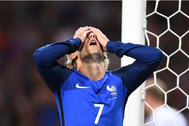Antoine Griezmann n'a pas trouvé le chemin du but face au Luxembourg.