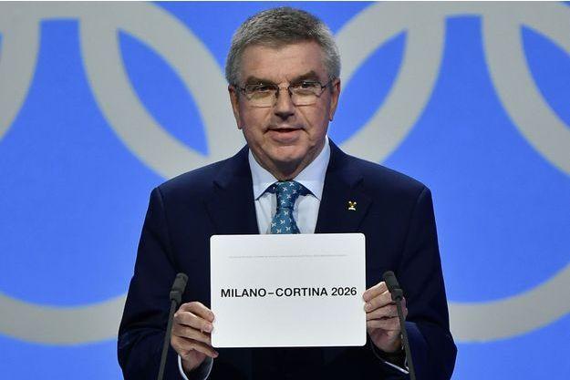 Thomas Bach, Président du Comité international olympique.