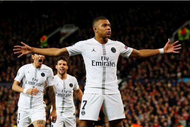 Kylian Mbappé a marqué le deuxième but parisien.