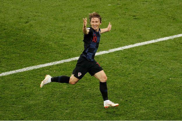 Luka Modric a marqué deux buts lors de la Coupe du monde.