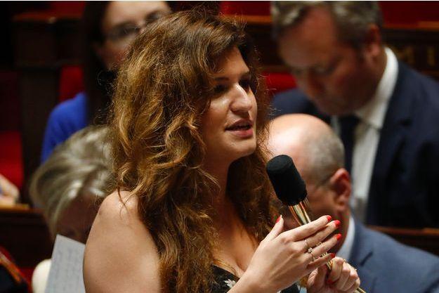 Marlène Schiappa à l'Assemblée nationale le 26 juin.