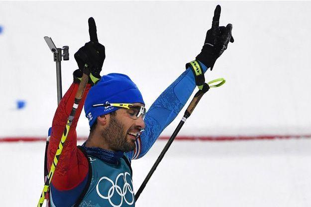 Martin Fourcade sacré champion olympique sur la mass-start de biathlon