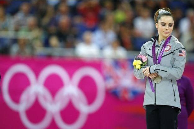 McKayla Maroney aux JO de Rio.