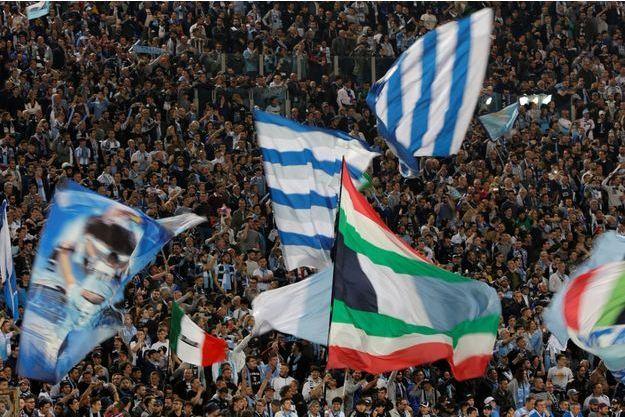 Des supporters de la Lazio. Image d'illustration.