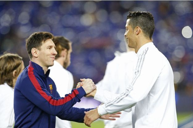 Lionel Messi et Cristiano Ronaldo.