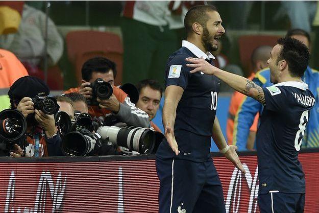 Karim Benzema et Mathieu Valbuena ont souvent été alignés ensemble en équipe de France.