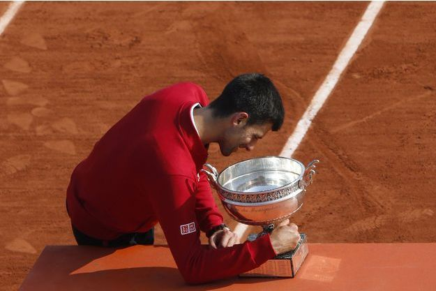 Novak Djokovic a remporté Roland-Garros l'an passé contre Andy Murray.
