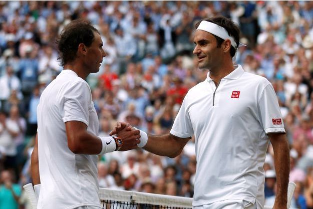 Roger Federer a pris sa revanche sur Rafael Nadal qui l'avait battu à Roland-Garros.