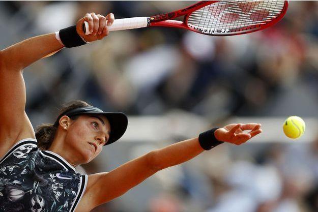 Caroline Garcia à Roland Garros, le 30 mai.