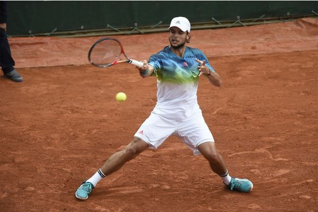 En 2016, Grégoire Barrère rencontre David Goffin pour son tout premier Roland-Garros.