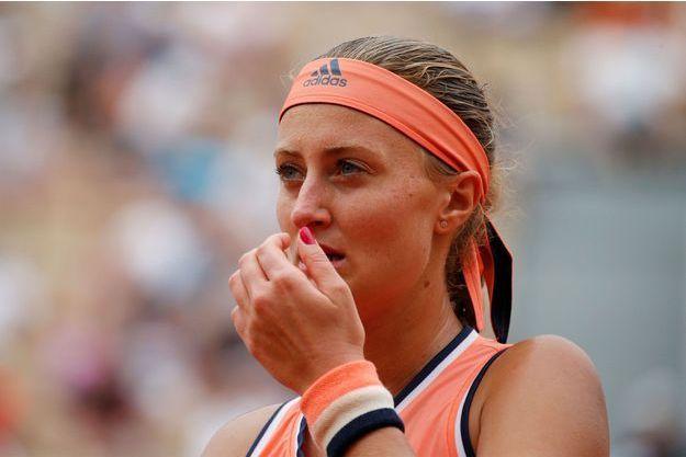 Kristina Mladenovic a été éliminée dès le premier tour de Roland-Garros.