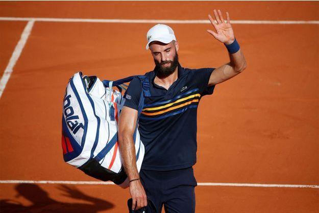 Benoît Paire a été éliminé au deuxième tour de Roland-Garros.