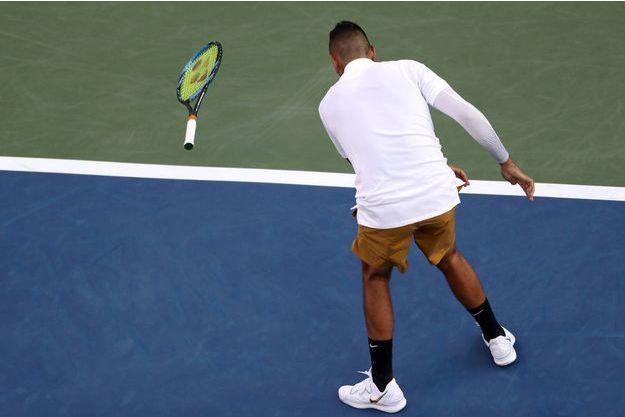 Nick Kyrgios pète à nouveau un plomb — Tennis
