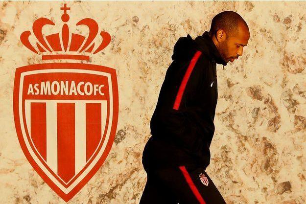 Thierry Henry, le 10 décembre au centre d'entraînement de l'AS Monaco, à La Turbie.