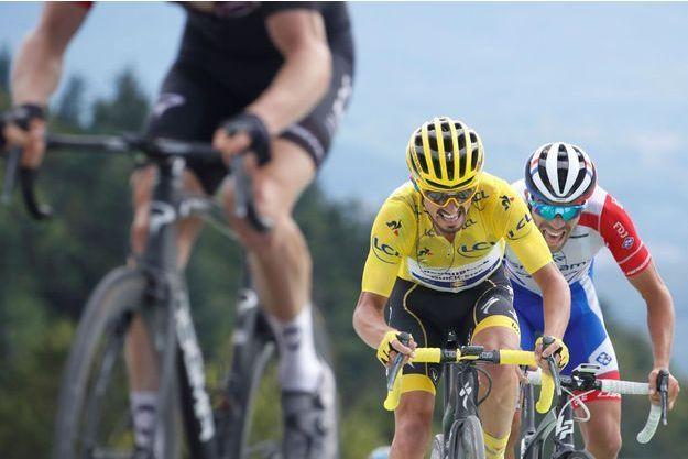 Julian Alaphilippe lors de la 6ème étape du Tour de France 2019, le 11 juillet.