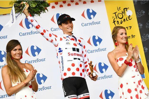 Warrend Barguil, victorieux à Foix.