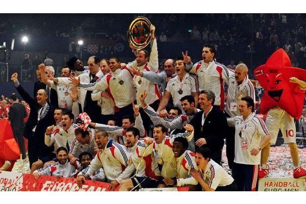 Les Experts de la planète handball réalisent le triplé historique Jeux Olympiques, championnats du monde, championnats d'Europe.