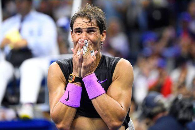 Rafael Nadal a remporté dimanche soir l'US Open.