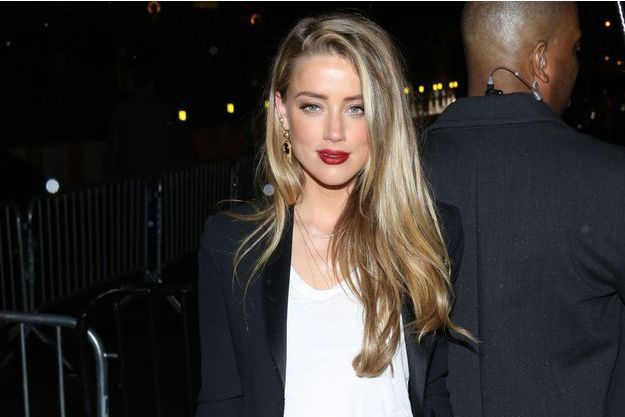 Amber Heard à New York, mai 2016