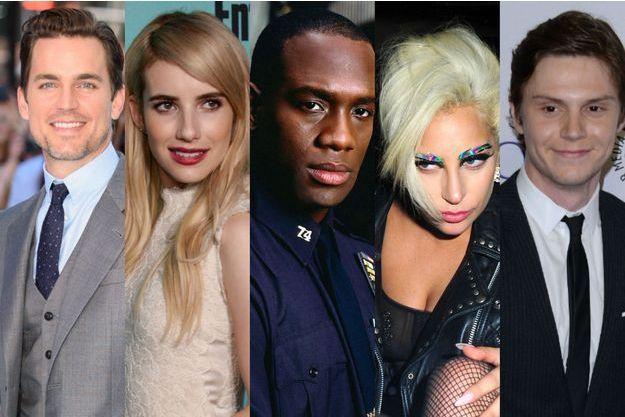 "Matt Bomer, Emma Roberts, Richard T. Jones, Lady Gaga et Evan Peters seront tous dans l'hôtel d'""American Horror Story"""