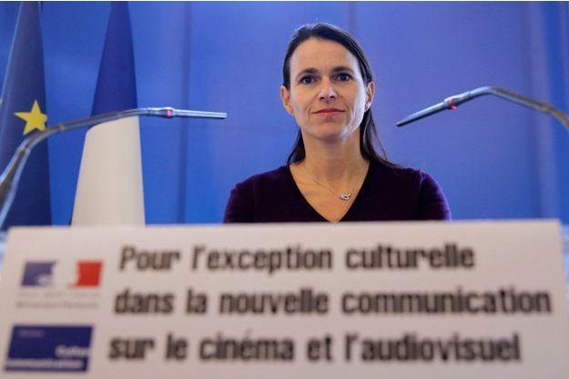 Aurélie Filippetti à Paris en novembre 2013.