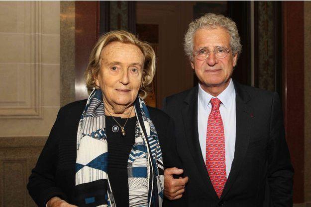 Bernadette Chirac et Laurent Dassault.