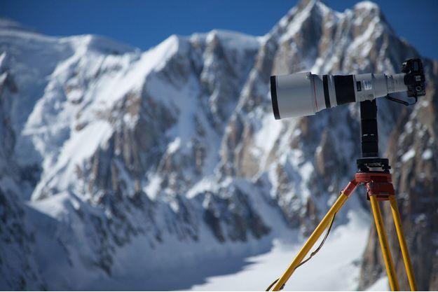 L'appareil qui a capturé les 70 000 photos.