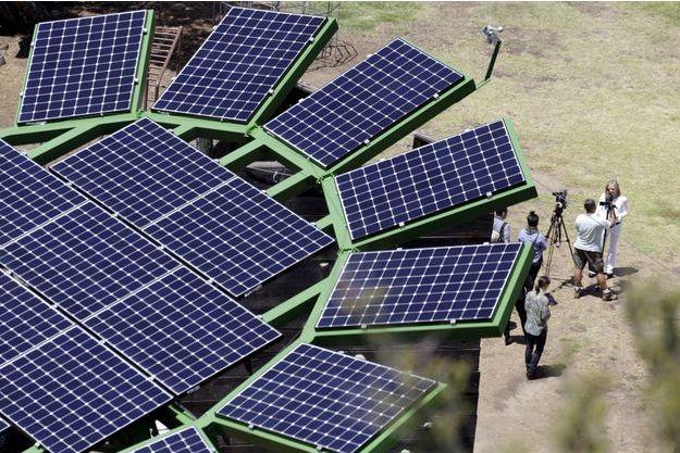 Des panneaux solaires (image d'illustration).