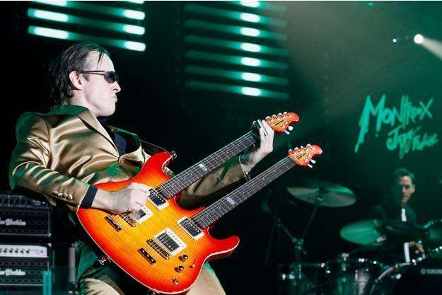 Joe Bonamassa au festival de jazz de Montreux.