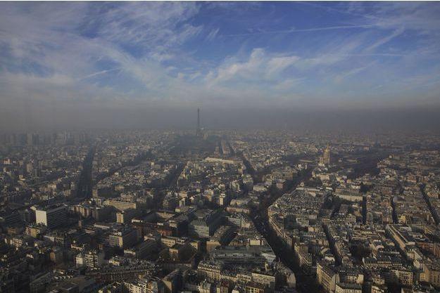 Paris sous la pollution.
