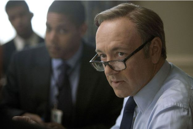"Kevin Spacey dans ""House of Cards""."